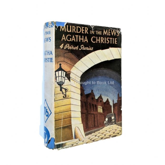 Murder In the Mews by Agatha Christie First Thus Odhams 1937